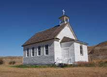 Old Country Church At Dorothy Alberta Stock Photos