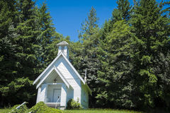 Old country church in Oregon Stock Photos