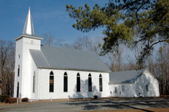 Old country church in Virginia Stock Photo