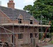 Old Country  Cottage Under Renovation Stock Image