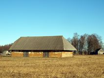 Clay barn Royalty Free Stock Images