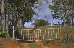 Old Country Gate Royalty Free Stock Photo
