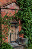 Old country house doorway Royalty Free Stock Photo