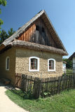 Old country house made of mud bricks Stock Photos