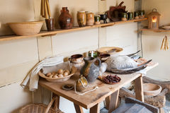 Old Country Kitchen Stock Images