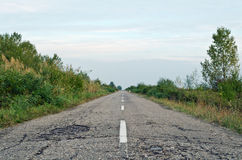 Old country road Royalty Free Stock Photography