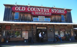 Old Country Store and Restaurant at Casey Jones Village, Jackson, Tennessee. Royalty Free Stock Photos