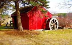 Old country waterwheel water wheel power Stock Image