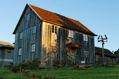 Old Country Wood House Bento Goncalves Stock Photos