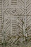Old country wooden door texture Stock Images