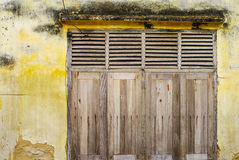 Old country wooden window Stock Image