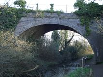 An Old Countryside Bridge Stock Image