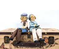 Old couple doll Royalty Free Stock Photos