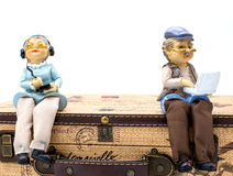 Old couple doll Royalty Free Stock Photo