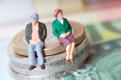 Old couple Royalty Free Stock Photos