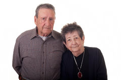 Old Couple Horizontal.jpg Stock Photo
