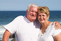Old couple love Royalty Free Stock Photos