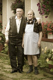 Old couple portrait Royalty Free Stock Image