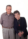 Old Couple Vertical.jpg Royalty Free Stock Photos