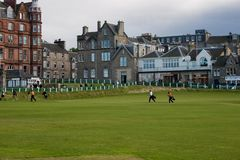 Old Course Stock Photo