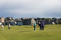 Old Course Stock Image