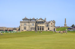 Old course at Saint Andrews Stock Photo
