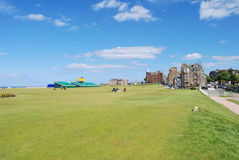 Old Course, St. Andrews Royalty Free Stock Images