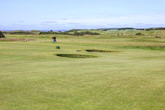 Old course at St. Andrews in Scotland Stock Photography