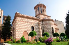 Old Court Church - Biserica Curtea Veche. Located in the center of Bucharest, near the remains of the Old Princely Court, The Curtea Veche Church (Saint Anthony Stock Photo