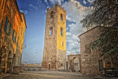 Old court in Longiano Stock Photography