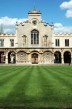 Old Court, Peterhouse. Old Court at Peterhouse College, the oldest college of Cambridge University Stock Photo