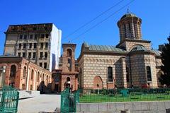 Old Court (Saint Anton) Church - Biserica Curtea Veche Royalty Free Stock Image