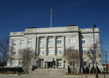 Old courthouse. Building in a southern city Royalty Free Stock Photos