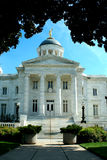 Old courthouse with blue sky Royalty Free Stock Image