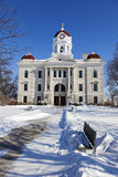 Old courthouse in Carthage Royalty Free Stock Photo