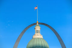 Old Courthouse  downtown St. Louis. Royalty Free Stock Photography