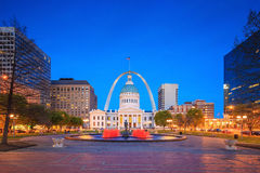 Old Courthouse  downtown St. Louis. Royalty Free Stock Images
