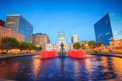 Old Courthouse  downtown St. Louis. Royalty Free Stock Photos