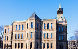 Old courthouse in Galesburg, Knox County Royalty Free Stock Photo