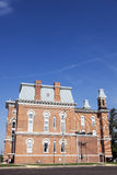 Old courthouse in Hillsboro, Montgomery County. Illinois, United States stock photo
