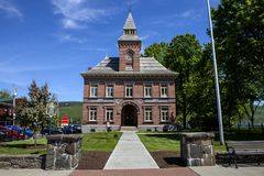 The Old Courthouse in Lake George Stock Photo
