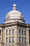 Old courthouse in Lincoln, Logan County Stock Photography