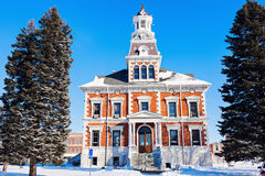 Old courthouse in Macomb. McDonough County, Illinois, United States royalty free stock photography
