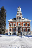 Old courthouse in Macomb. McDonough County, Illinois, United States stock photos