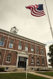 Old courthouse in Marshall, Clark County Stock Photography