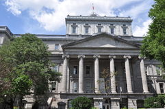 Old Courthouse in Montreal Royalty Free Stock Photography