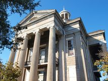 Old Courthouse Museum Building. Old courthouse museum in Vicksburg, MS (side view Royalty Free Stock Photo