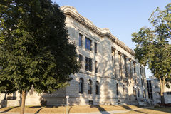 Old courthouse in Pekin Royalty Free Stock Photo