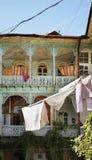 Old courtyard in Tbilisi. Georgia Royalty Free Stock Image