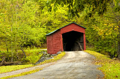 Old covered-bridge Royalty Free Stock Images